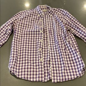 Checkered Jcrew shirt